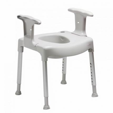 Armstöd till toalett